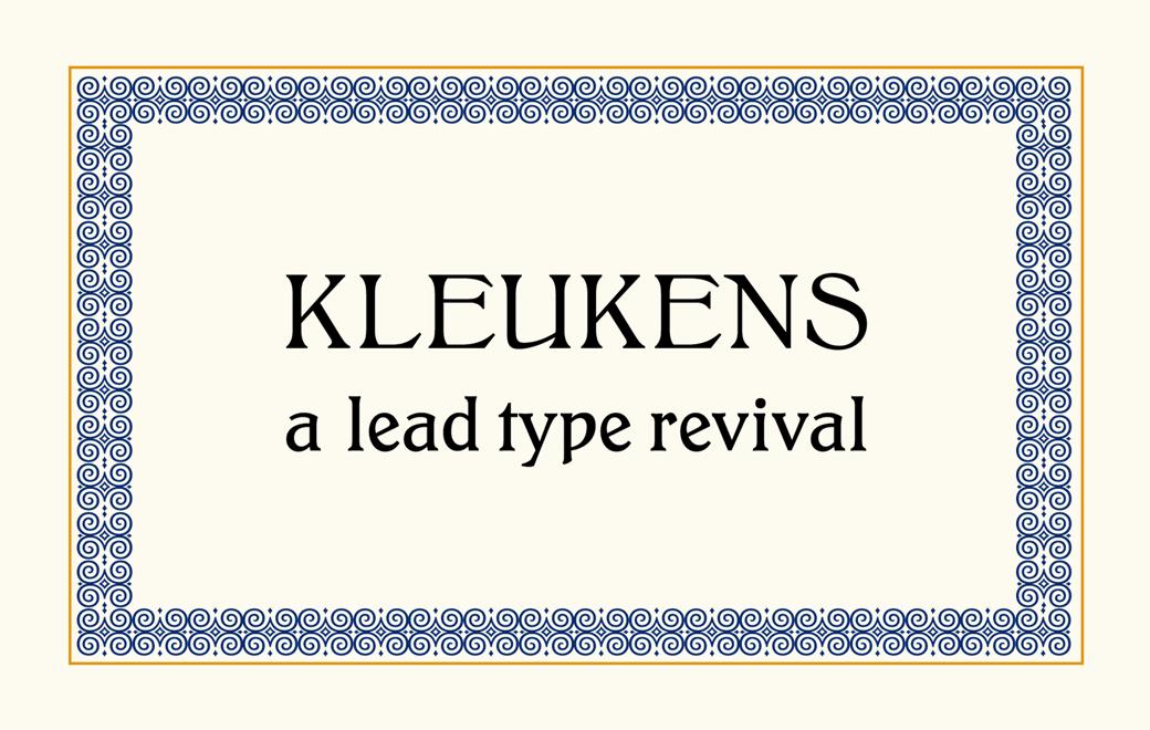 Kleukens Revival
