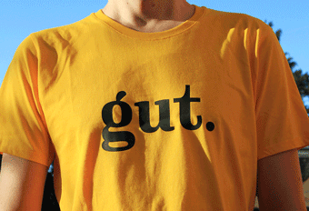 """gut"" – shirt design"