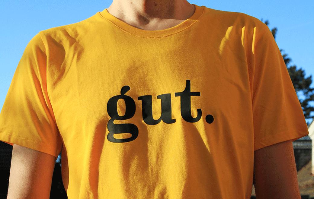 """""""gut"""" – shirt design"""